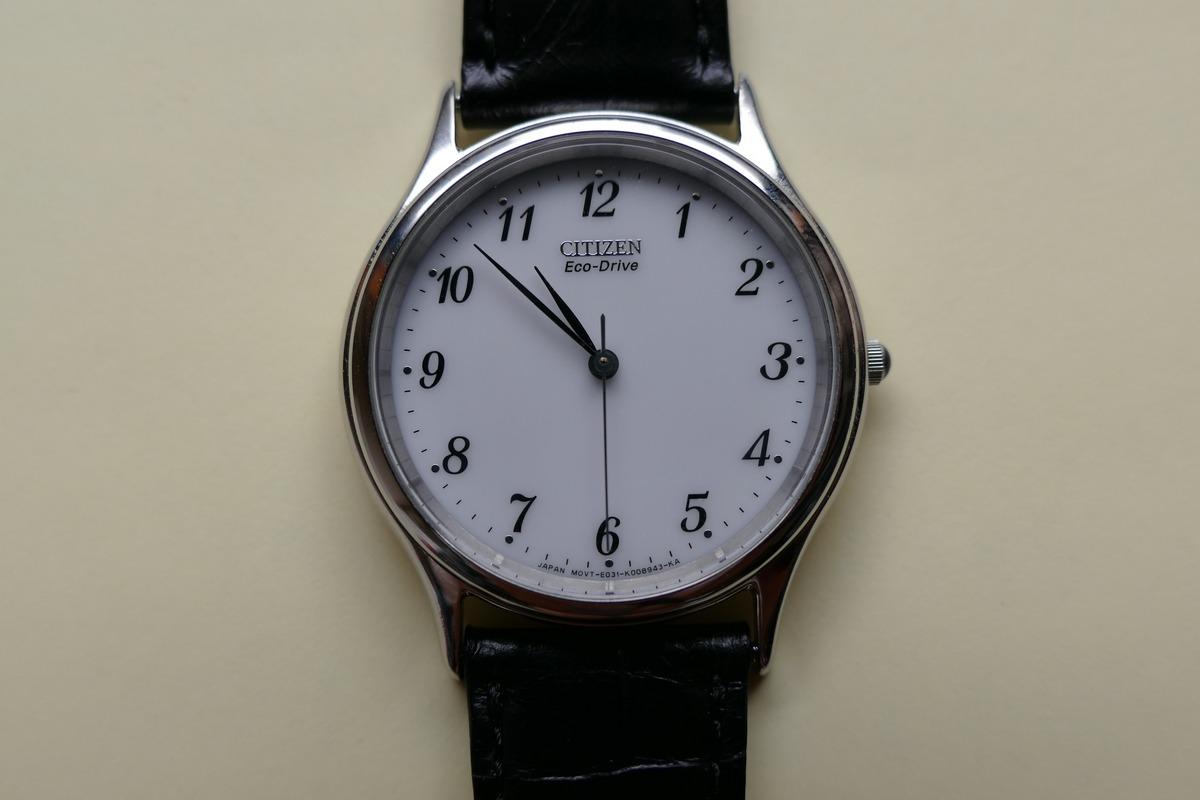 sale retailer 18904 2a7f7 軽くて薄い腕時計、シチズンフォルマFRB59-2251を買った ...